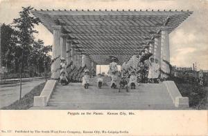 US Mo. Kansas City, Pergola on the Paseo 1905