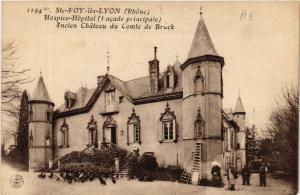CPA Ste Foy les Lyon Hospice-Hopital ancien Chateau du Comte de Bruck (572960)