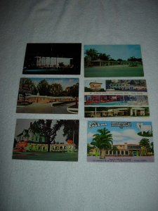 Ocala FL - Lot Of 6 Great Vintage Postcards - x0593