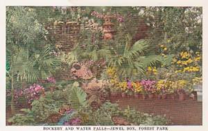 Missouri St Louis Forest Park Jewel Box Rockery and Water Falls
