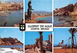 Spain Lloret de Mar Costa Brava Different aspects