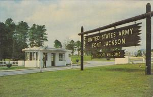 Main Entrance , FORT JACKSON , South Carolina , 50-60s