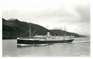 Steamer, S.S. Aleutian, Johnston No. 1250, RPPC