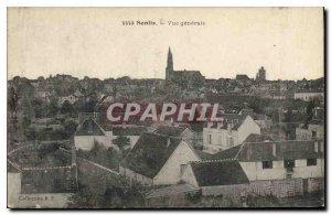 Old Postcard Senlis (Oise) General view