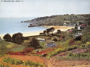 Giant Size Jersey Postcard, St. Brelades Bay, Channel Islands 202x152mm OS227