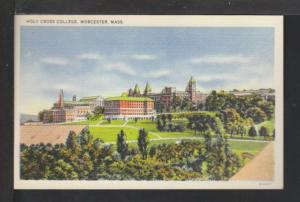 Holy Cross College,Worcester,MA Postcard