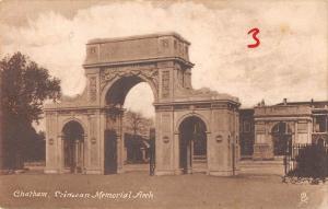 uk18097 crimean memorial arch chartham real photo uk