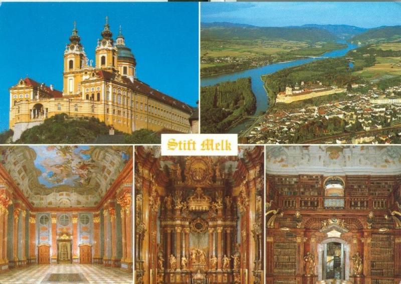Austria, Stift Melk unused Postcard