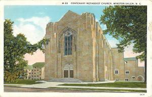 W/B Centenary Methodist Church Winston-Salem North Carolina