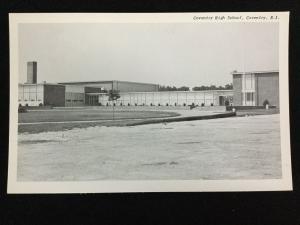 Vintage Coventry High School, Conventry, RI postcard