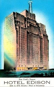 New York City Hotel Edison