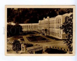 258760 USSR GEORGIA Abastumani sanatorium 1934 year postcard