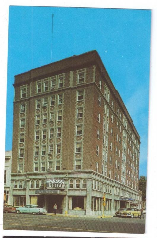 Hotel Retlaw Fond Du Lac Wisconsin Wi 1959