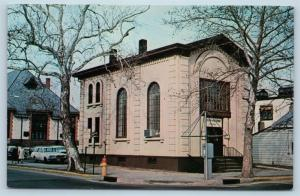 Postcard NJ Millville The First Bank of Millville O01