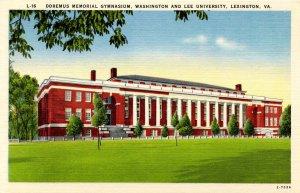 VA - Lexington. Washington & Lee University, Doremus Memorial Gymnasium