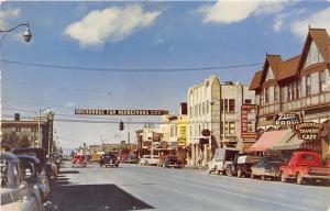 Anchorage Alaska~Fourth Avenue~Zenith Radio~Cheechako Tavern~50s Trucks-Cars