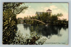 Thousand Islands NY, Rose Island, Vintage New York c1909 Postcard