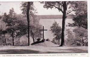 Wisconsin Lake Geneva The Cross On Vesper Hill Conference Point Camp