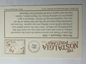 NOSTALGIA REPRODUCTION POSTCARD - THE LIDO PLYMOUTH 1920   (KK1577)