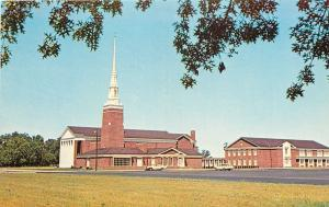 Salisbury Maryland~Asbury Methodist Church~1963 Postcard