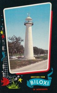 BILOXI, Mississippi, 1940-60s; Lighthouse # 2