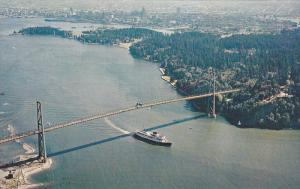 Entrance to Vancouver Harbor,   Vancouver,  B.C.,  Canada,   40-60s