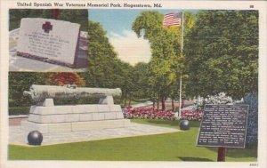 United Spanish War Veterans Memorial Park Hagerstown Maryland