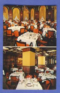 Wilmington, Delaware/DE Postcard, Hotel Dupont Restaurant