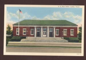 LUFKIN TEXAS UNITED STATES POST OFFICE VINTAGE POSTCARD