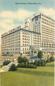 PA, Wilkes-Barre, Pennsylvania, Hotel Sterling, Ramsay Mebane No. 71289