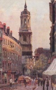 TUCK #6258; LONDON, England, United Kingdom, 1900-10s; St. Magnus the Martyr ...