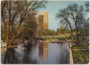 International Horticultural Exhibition, Hamburg, 1975 used Postcard