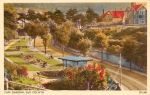Old Colwyn Cliff Gardens Promenade