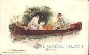Artist Signed Howard Chandler Christy, In Deep Water 1911
