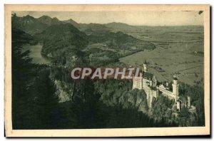 Old Postcard Neuschwanstein