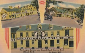 MILFORD , New Hamshire, 1930-40s ; Reed's white Elephant Shop