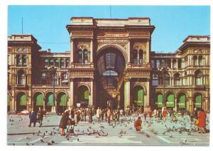 Italy Milan Galleria Vittorio Emanuele 4X6 Postcard