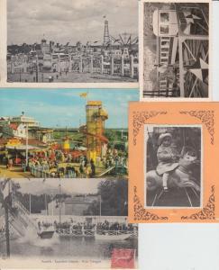LUNA PARKS MANÉGES 95 Cartes Postales pre-1970  35-pre-1940