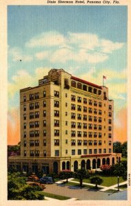Florida Pensacola Dixie Sherman Hotel Curteich