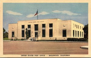 California Inglewood Post Office Curteich