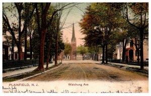 New Jersey  Plainfield  Watchung Avenue