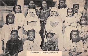 Gilbert Island School Children, Iles Gilbert Ecole des Soeurs