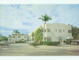 Unused Pre-1980 SURFSIDE MOTEL Palm Beach Florida FL hr6079
