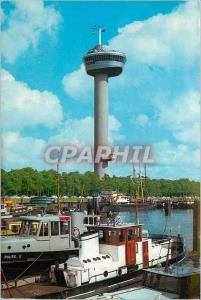 Postcard Modern Rotterdam Holland Boat