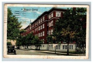 Vintage View of St. Margaret's Hospital, Hammond IN c1928 Postcard M6