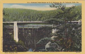 Tallulah Falls Bridge U S Highway 23 Tallulah Falls Georgia Curteich