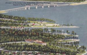 Airview Of Kentucky Lake State Park Western Kentucky Eggners Ferry Bridge In ...