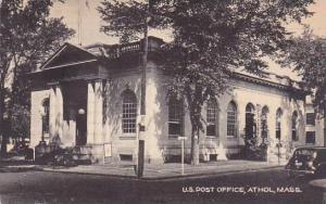 Massachusetts Athol U S Post Office