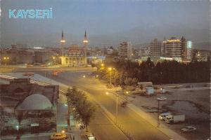 Turkey Kayseri Turkiye Dagitim Menekse Kirtasiye Gece gorunum