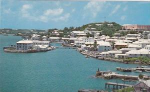 View From East Of Town Of St. George's, Bermuda, 1940-1960s